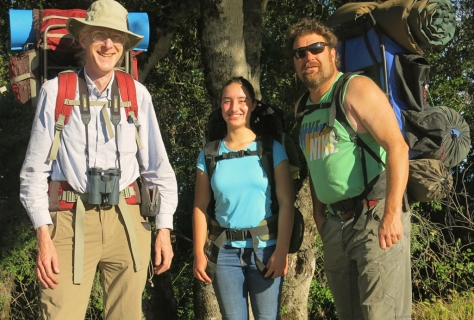 Ecojustice Camp staff backpacking trip, 2015